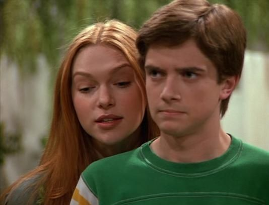 Eric Forman and Donna