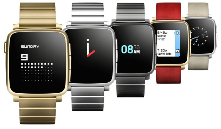 Oulig - Pebble Time Steel, la seule montre connectée compatible IOs ET Android