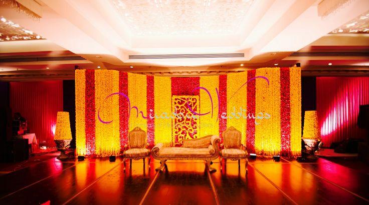 Mehndi Stage by Miradore Weddings
