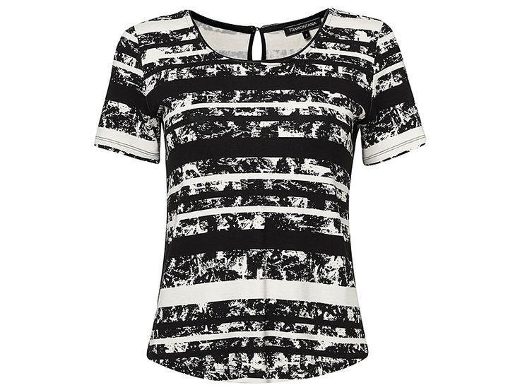 Lekkere viscose top van Tramontana met een tijdloze streepjesprint! #tramontana #mode #fashion #tshirt #graphic #print #viscose #design #styling #conceptstore #outfitoftheday #fashionblogger #weidesign #weidesignandmore #haarlem #hipshops #hipshopshaarlem #webshop #online