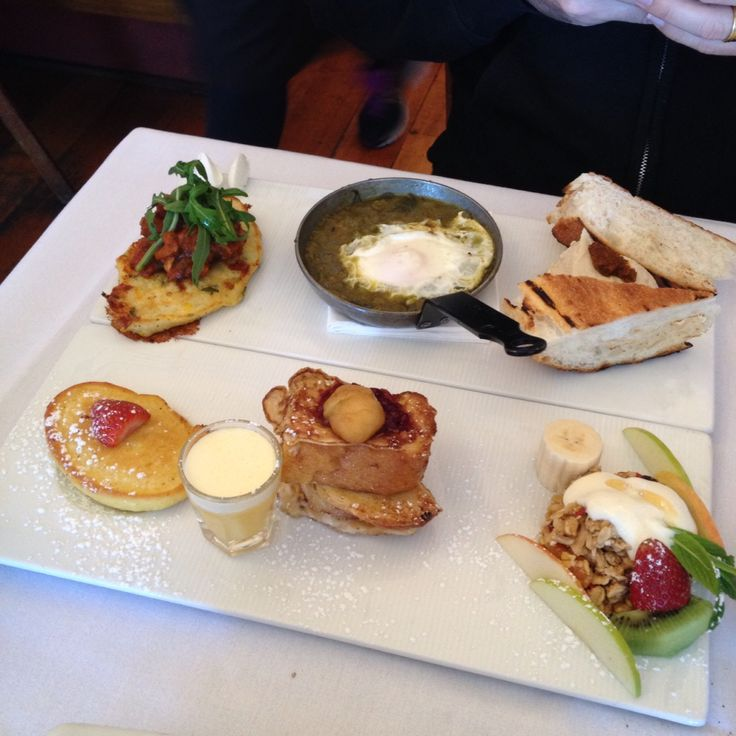 Another incredible meal at Bondi Beach' Trio Cafe | The tasting plate | each breakfast they offer in bite sizes