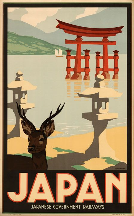 Japan Travel Poster, Unknown.
