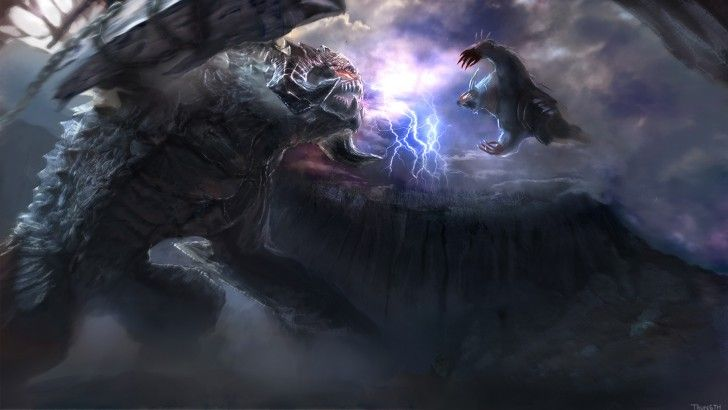 Roshan vs Ursa Dota 2 Clash Battle Fight HD Wallpaper 1920×1080