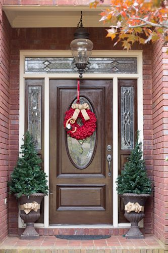 25 best ideas about stained front door on pinterest for How to stain a garage door