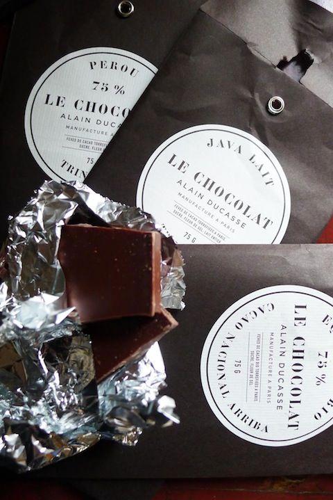 Ducasse et la chocolaterie