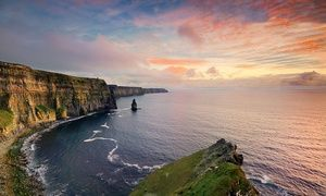 Groupon - ✈ Sweepstakes to Win 8-Day Ireland Vacation with Airfare, Rental Car, and Excursions for Two by Great Value Vacations  in Galway, Limerick, and Dublin. Groupon deal price: $0