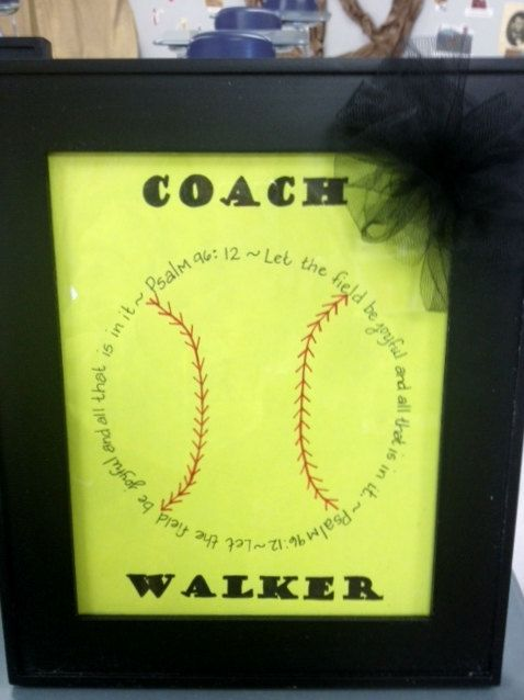 Personalized Coaches or Player Gift for by 10DowningSt on Etsy, $15.00