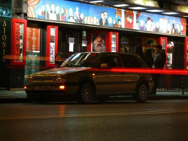 Volkswagen Golf MK3 Night by snuupy
