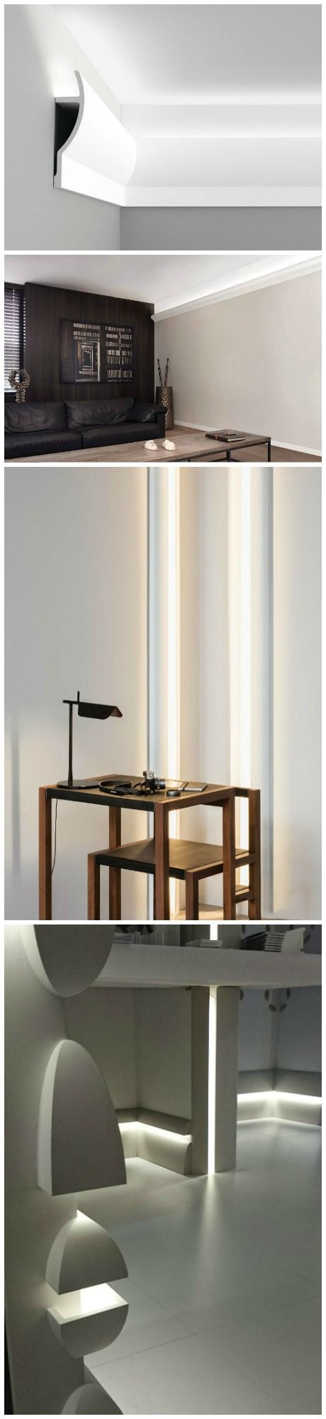 indirect lighting ideas. Install Your Very Own Cool Atmospheric Indirect Lighting In Any Room Using Easy To DIY Crown Molding And LED Rope Lighting. Ideas