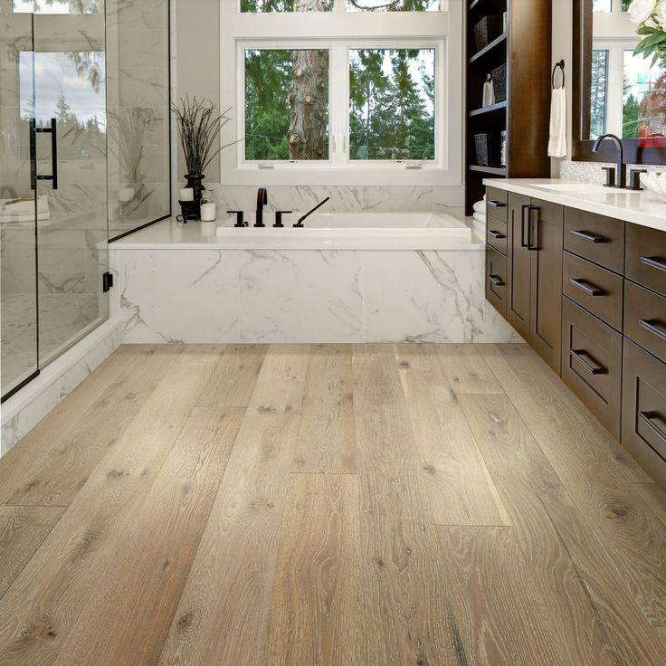 Waterproof Bathroom Flooring Hardwood, Wood Flooring In Bathroom Waterproofing