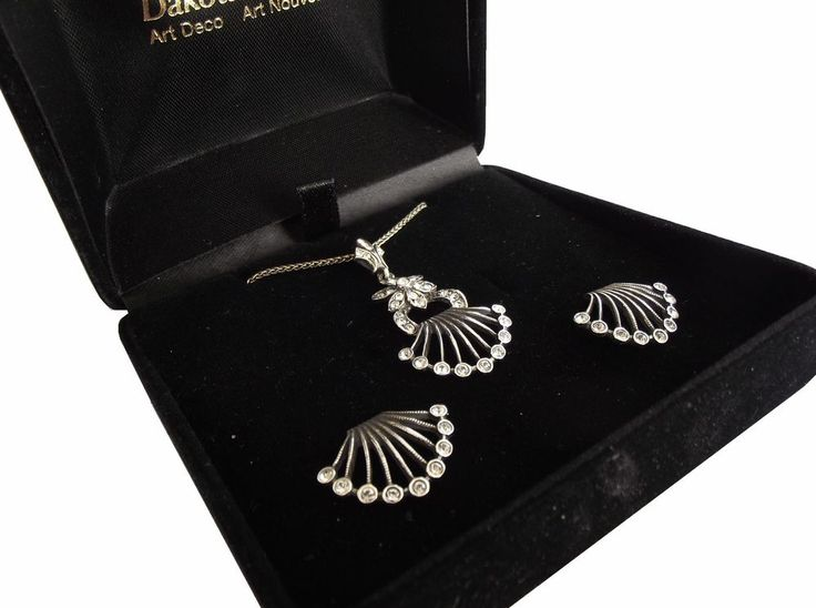 Set Halskette Ohrringe 925 Silber Victorian Style Necklace Drop Earrings setgl8 | Uhren & Schmuck, Echtschmuck, Schmucksets | eBay!