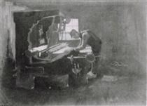 Weaver, Arranging Threads - Vincent van Gogh