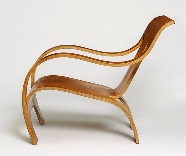 1934, bent plywood chair, designer, gerald summers, modernist, moulds, structure, the makers of simple furniture, Wooden, Woodwork