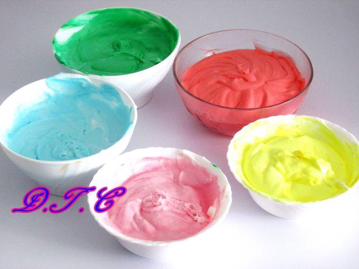 como fazer chantilly caseiro colorido