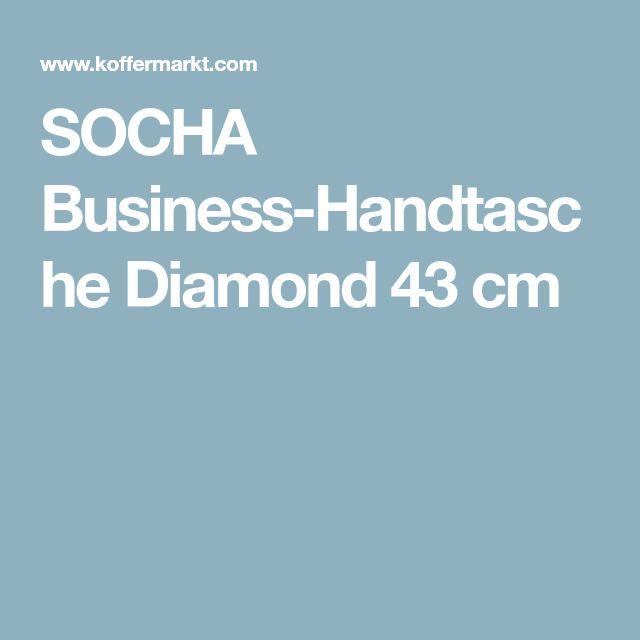SOCHA Business-Handtasche Diamond 43 cm