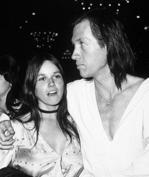 Barbara Hershey & David Carradine.  They lived on Canton Place next door to my grandmother in Studio City