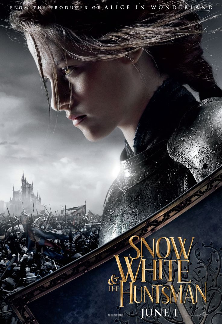 Snow White & The Huntsman movie poster - Kristen Stewart