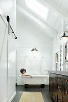 Rustic to Modern Bathroom scale 2