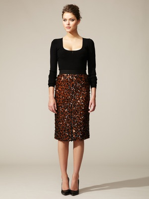 Sequin Embellished Pencil Skirt by Dolce & Gabbana: Embellishments Pencil, Sequins Pencil, Dolce Gabbana, Gabbana Sequins, Saia Mini-Sequins, Sequins Embellishments, Dolce & Gabbana, Pencil Skirts, Embellishments Skirts