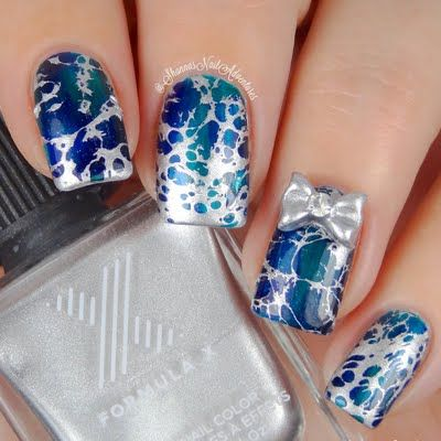 Splatter has never looked this amazing. Nail artist shannasnailadventures used her lacquer gifts from Formula X to create this #InfiniteOmbre mani.