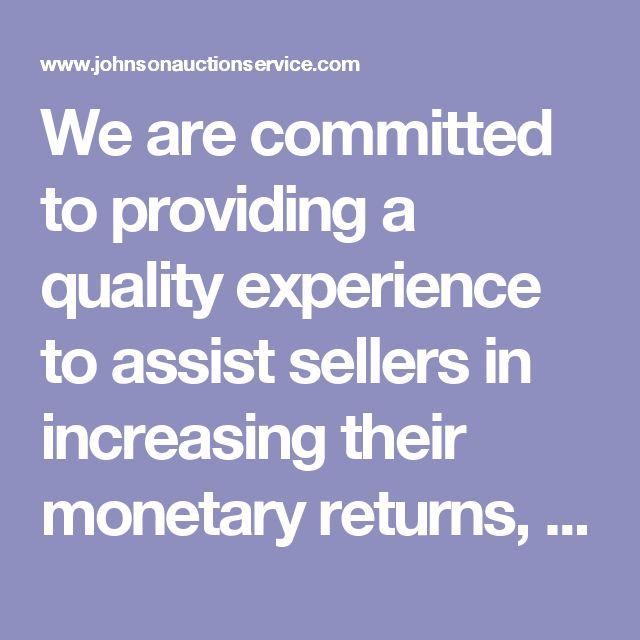 We are committed to providing a quality experience to assist sellers in increasing their monetary returns, to provide an honest and professional transaction and to provide buyers and sellers with quality choices. JAS is a full-service company conducting on-site and off-site oral/live auctions. Utilizing the latest technology via a computerized clerking and cashiering system for the past ten years, buyers are provided immediate itemized check-out invoices and sellers receive a complete…