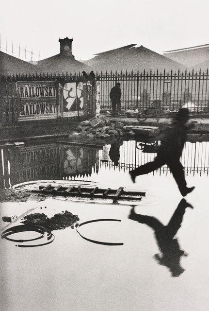 Henri Cartier-Bresson | Behind the Gare Saint-Lazare, Paris (1932) | Available for Sale | Artsy
