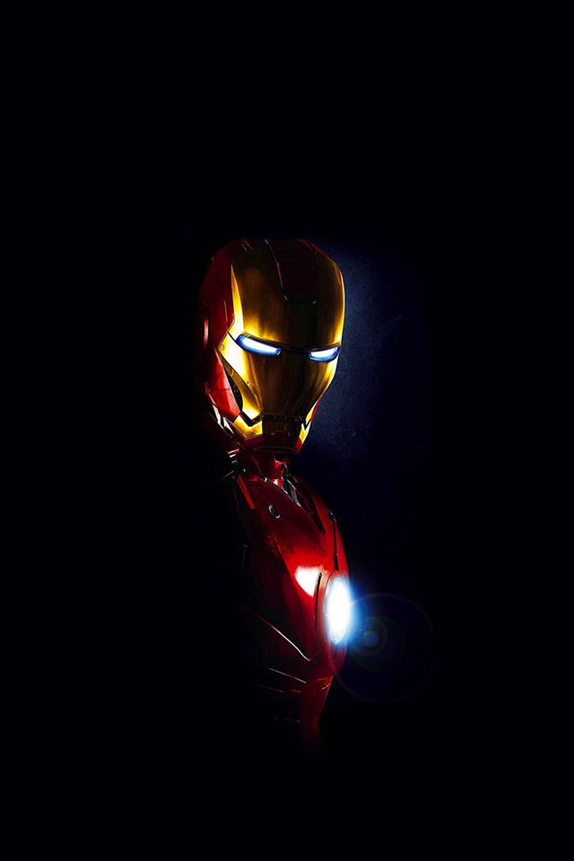 ironman-in-dark | download iPhone iPad wallpaper at freeios7.com