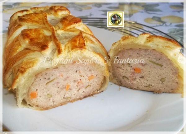 Italian Sfoglia Cake Recipes: Polpettone Ripieno In Crosta Di Pasta Sfoglia Ricetta