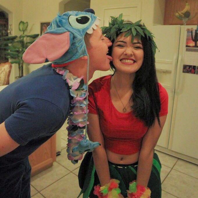 Our Lilo and Stitch costumes