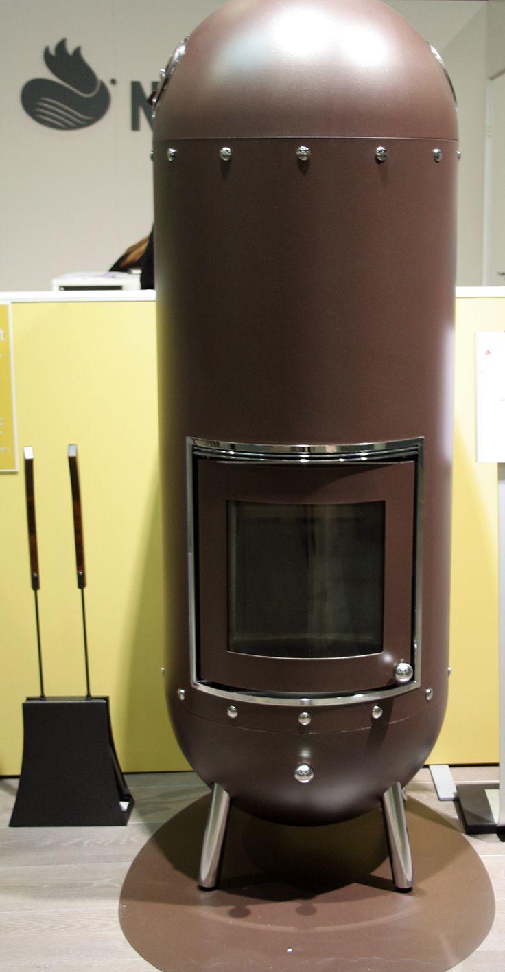 Habitare 2013. NunnaUuni Genious-takka ja AIKA-takkasetti - NunnaUuni Genious fireplace and AIKA- fireplace equipment