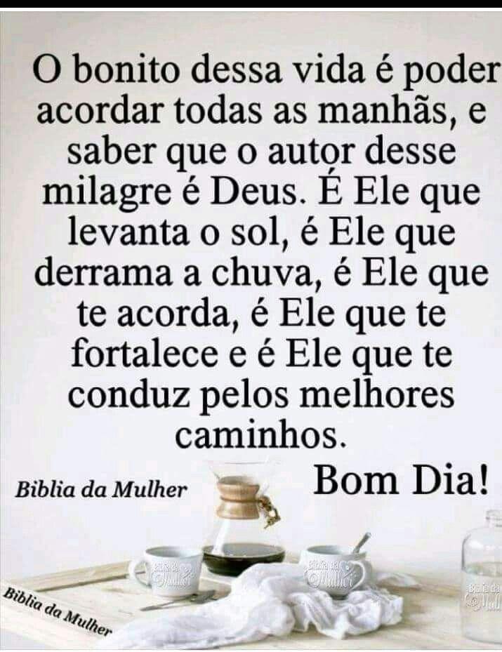 Bom Dia Bom Dia Frases E Facebook