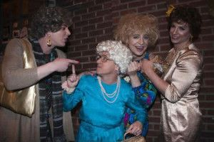 Golden Girls Funny Group Costume Idea #Funny Group Halloween Costume Ideas #Halloween #Costumes #Group