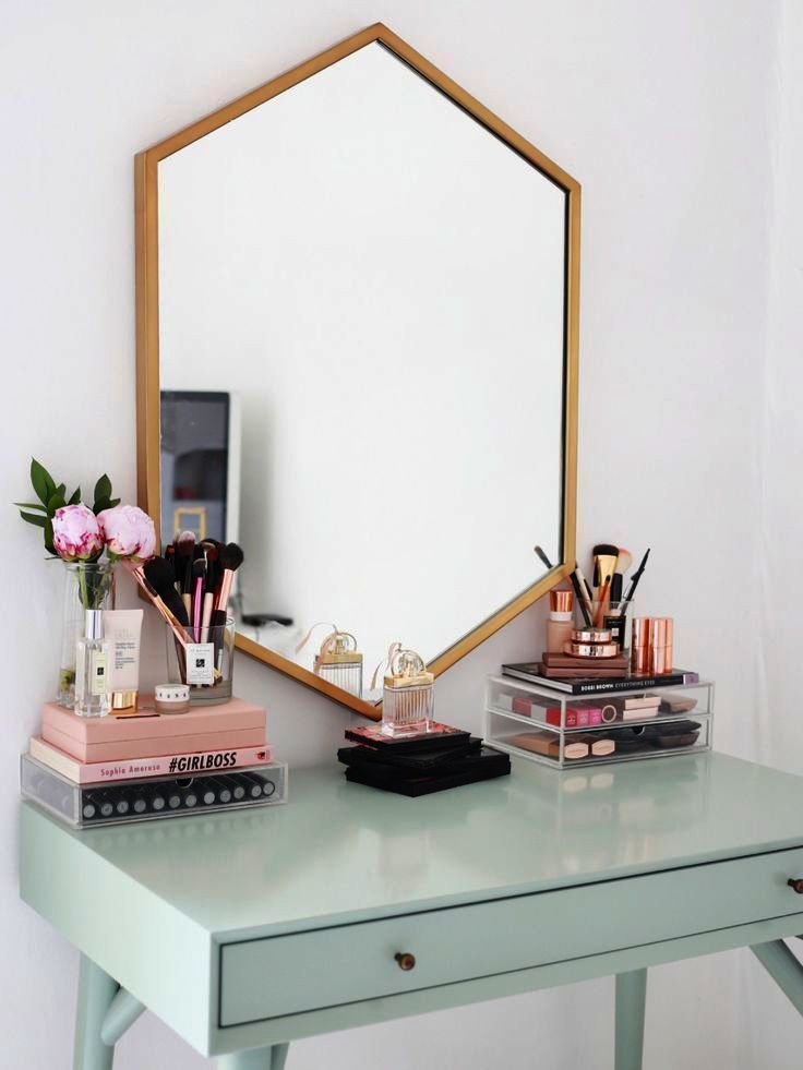 Makeup Vanity Table And Chair Set Near Makeup Looks For Prom Lot