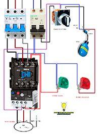 Esquemas eléctricos: Manobrar mais selector bomba contactor