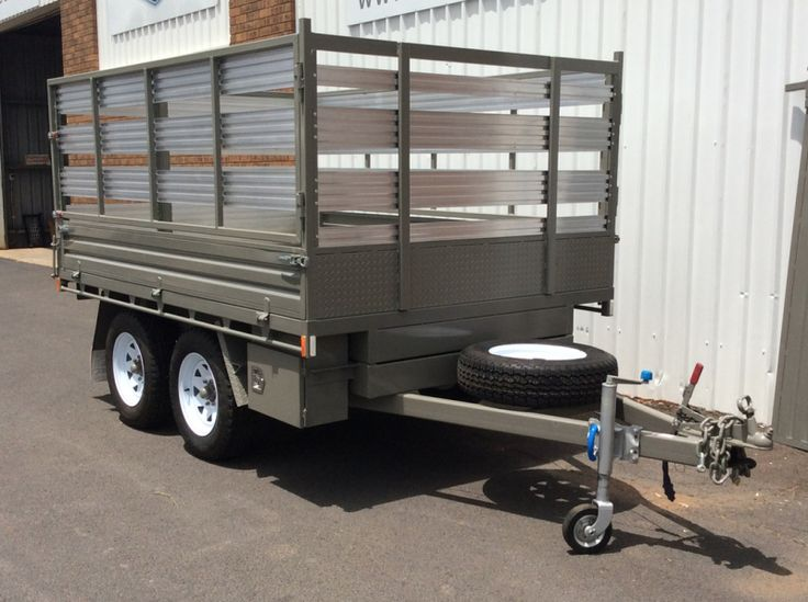 how to build a tandem tipper trailer