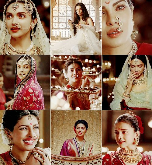 Deepika and Priyanka looking gorgeous in Bajirao Mastani...