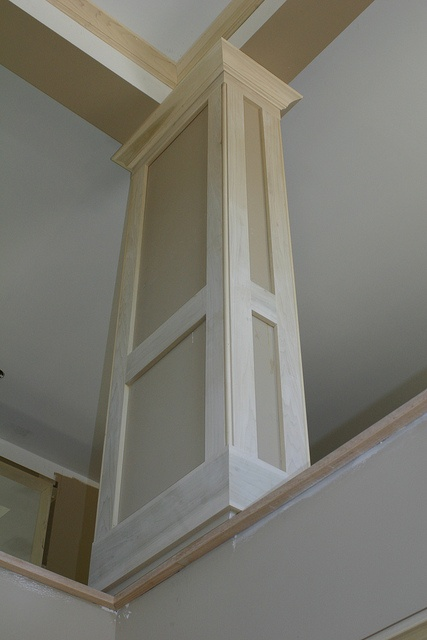 Trim For The Square Columns Dream Foyer Idea Pinterest
