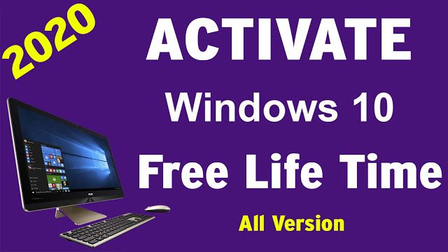 How To Activate Windows 10 Free 2020 Windows 10 Windows 10 Things