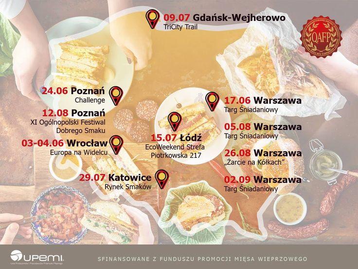 Foodtruck QAFP - trasa! Bądźcie!