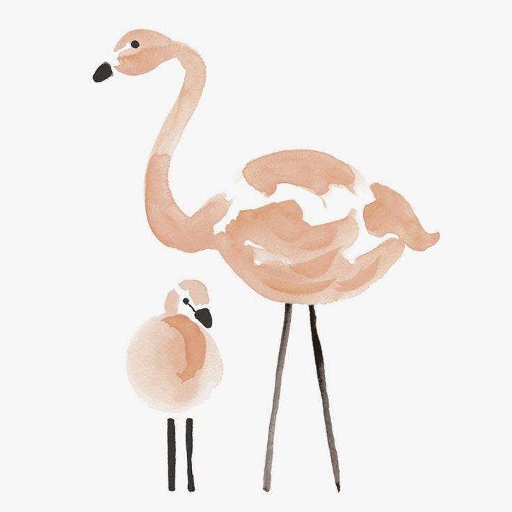 Lilipinso Flamingo XL Muursticker