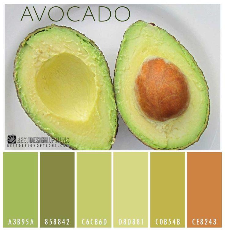 avocadocolorpalette Color Palettes Pinterest