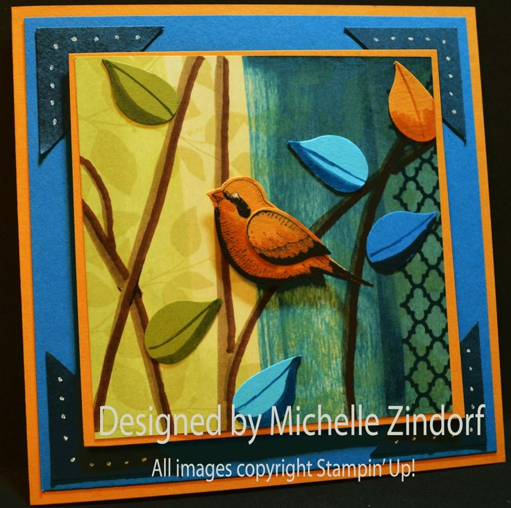 17 Best Images About Cards-SU Bird Punch Potpourri And