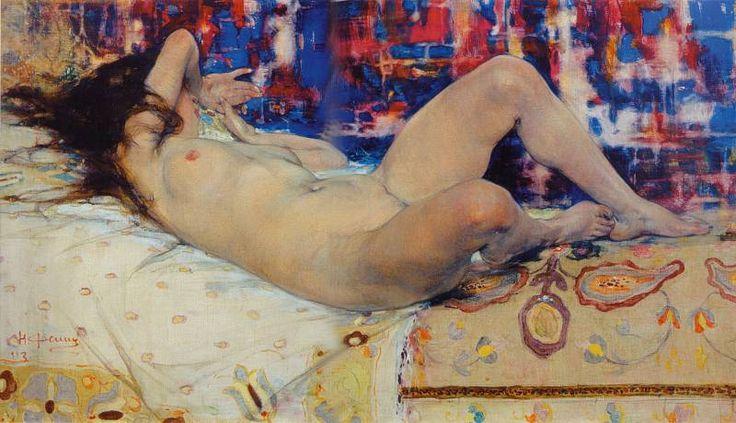 Натурщица (1913). Николай Фешин