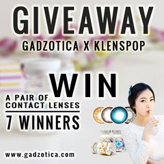 Gadzotica international Giveaway... win the contact lenses :D #giveaway #internationalgiveaway