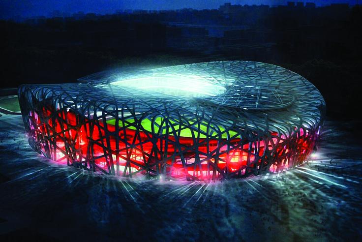 """National Stadium a.k.a. """"#Bird's Nest"""" (Beijing, #China)"""