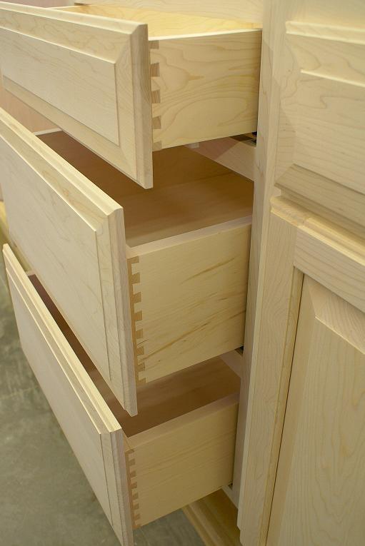 dovetailed drawers #joinerygeek