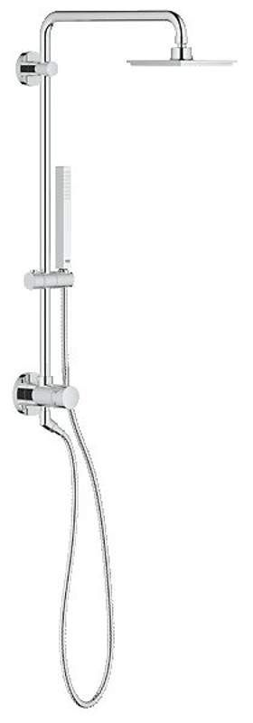 View the Grohe 26 124 Retro-Fit 150 Shower System. Upgrade Your Existing Shower and Add a Rain Shower Head and Hand Shower at FaucetDirect.com.
