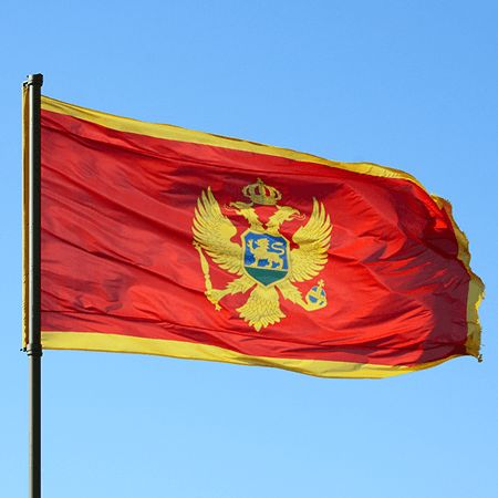Montenegro Flag colors meaning history