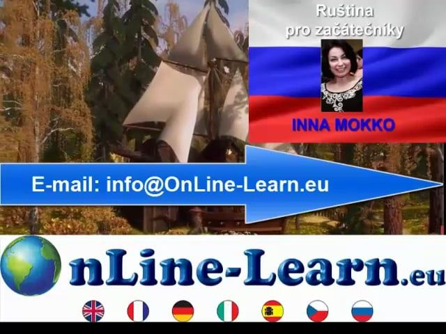 Learn russian online  INNA MOKKO