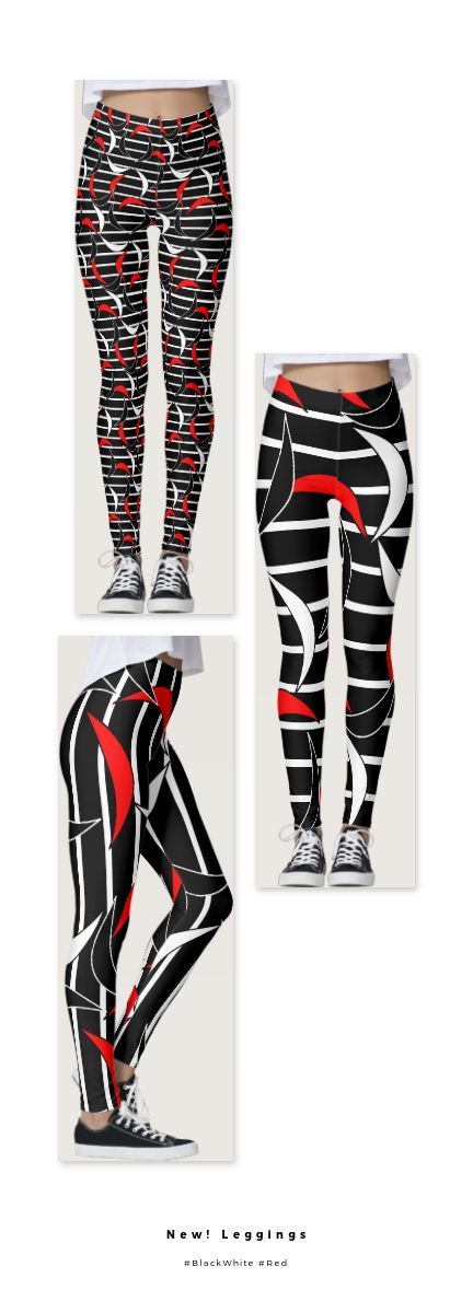 New on Zazzle, Trendy Leggings